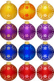 Christmas decoration. This image is a vector illustration and can be scaled to any size without loss of resolution. This image will download as a .eps file. You Royalty Free Stock Image