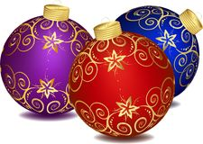 Christmas decoration. This image is a vector illustration and can be scaled to any size without loss of resolution. This image will download as a .eps file. You Stock Photos