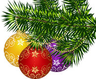 Christmas decoration. This image is a vector illustration and can be scaled to any size without loss of resolution. This image will download as a .eps file. You Stock Image