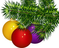 Christmas decoration. This image is a vector illustration and can be scaled to any size without loss of resolution. This image will download as a .eps file. You Stock Photography