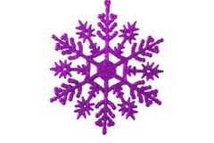 Christmas Decoration. A christmas ornament - seasonal decoration - isolated - close up Royalty Free Stock Image