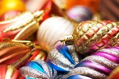 Christmas decoration. S at the market Stock Images