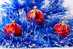 Christmas decoration. Isolated over white Royalty Free Stock Photography