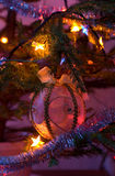 Christmas decoration. On a pine-tree Stock Photography