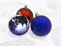 Christmas Decoration. Background possible to use for printing and project Royalty Free Stock Image