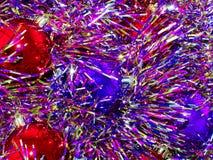 Christmas decoration. Multi-coloured Christmas decoration close up Stock Image