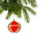 Christmas Decoration. On white background Stock Photos