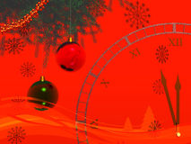 Christmas Decoration. Background possible to use for printing and project Stock Photography