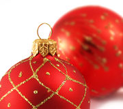 Christmas decoration. Isolated on the white background Stock Images