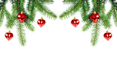 Christmas decoration. Isolated on white background Stock Photography