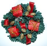 Christmas decoration. A colorful texture christmas decoration Royalty Free Stock Photos