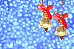 Christmas decoration on abstract background Royalty Free Stock Photos