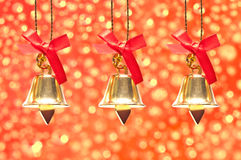 Christmas decoration on abstract background Stock Photo