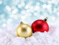 Christmas decoration on abstract background Royalty Free Stock Photo