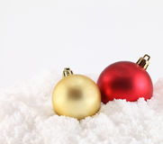 Christmas decoration on abstract background Stock Photography