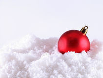 Christmas decoration on abstract background Stock Image