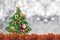 Christmas decoration on abstract background.merry Christmas and happy new years background. card idea. Royalty Free Stock Images