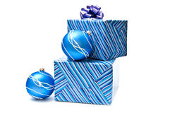Christmas Decoration And Presents Royalty Free Stock Image