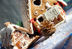 Christmas Decoration And Sweets Royalty Free Stock Photos