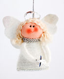 Christmas decoration angel Stock Photos