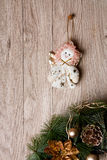 Christmas decoration - angel Stock Images