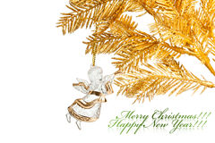 Christmas decoration angel Royalty Free Stock Images