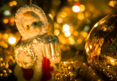 Christmas decoration - angel Stock Photos