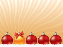 Christmas decoration background Stock Images