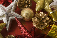Christmas decoration background Royalty Free Stock Image