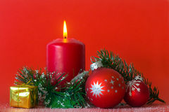 Christmas decoration background Stock Image