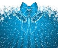 Christmas decoration background royalty free illustration