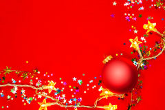 Christmas decoration background Royalty Free Stock Images