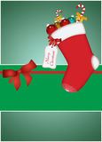 Christmas decoration background Stock Image