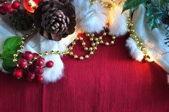 Christmas Decoration Background Stock Photos