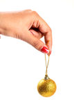 Christmas decoration ball Royalty Free Stock Photos
