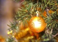 Christmas decoration ball Royalty Free Stock Photos