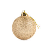 Christmas decoration ball isolated Royalty Free Stock Image