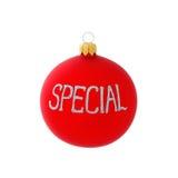 Christmas decoration, ball, isolated on white Royalty Free Stock Image