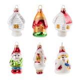 Christmas  decoration ball isolated on white background Stock Photography