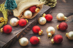 Christmas decoration ball Royalty Free Stock Images
