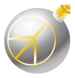 Christmas decoration ball  Royalty Free Stock Image