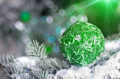 Christmas decoration ball royalty free stock image