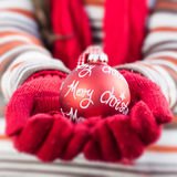 Christmas Decoration Ball Stock Images