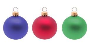 Christmas decoration balls. Stock Image