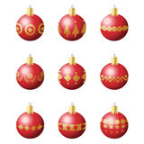 Christmas decoration balls Royalty Free Stock Photos