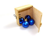 Christmas decoration: Balls Royalty Free Stock Photography