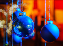 Christmas decoration balls, Christmas concept Stock Images