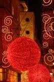 Christmas Decoration Balls Stock Images