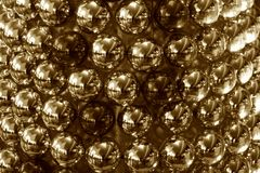 Christmas decoration balls sepia coloured stock photograph royalty free stock images