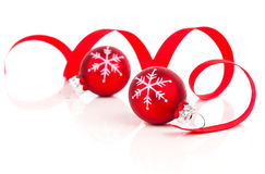 Christmas decoration balls Stock Photos
